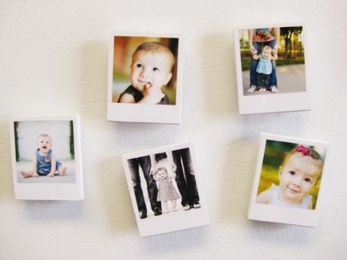 Печать фотографий в стиле Polaroid