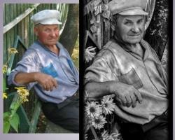 Обработка фотографий для памятников